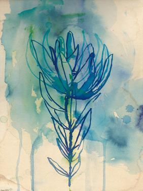 Blue Wash Protea by Paula Mills