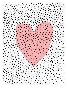 Dotty Heart by Paula Mills