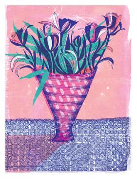 Flower Vase by Paula Mills