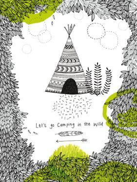 Lets Go Camping by Paula Mills