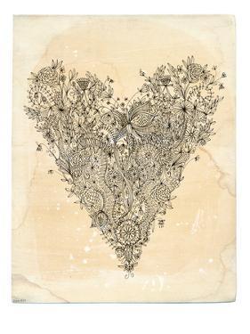 Love Art Print by Paula Mills