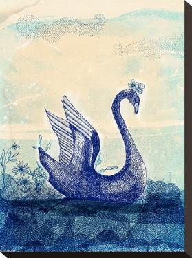 Sailing Swan by Paula Mills