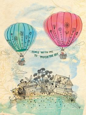Touch The Sky Blue And Read by Paula Mills