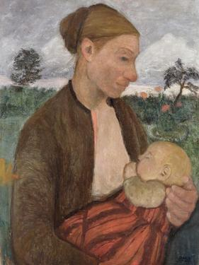 Mother and Child, 1903 by Paula Modersohn-Becker
