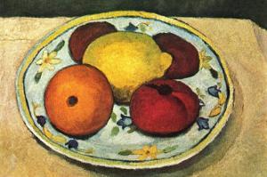 Still Life Fruit by Paula Modersohn-Becker