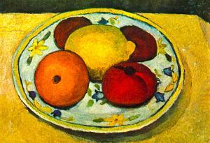 Paula Modersohn-Becker Still Life with Fruit Art Print Poster