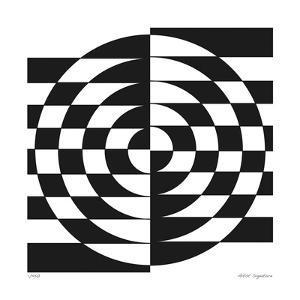 Op Circles II by Paula Scaletta