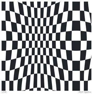 Op Squares II by Paula Scaletta