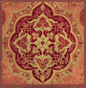 Persian Tiles I by Paula Scaletta