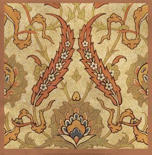 Persian Tiles III by Paula Scaletta