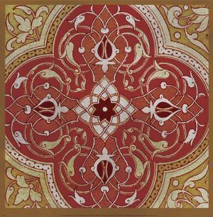 Persian Tiles IV by Paula Scaletta