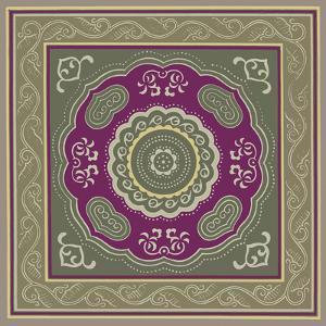 Sojourn Tile III by Paula Scaletta
