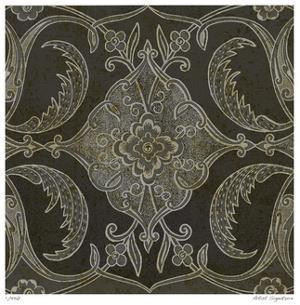 Vintage Tile I by Paula Scaletta