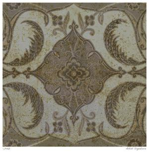Vintage Tile II by Paula Scaletta