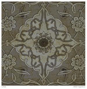Vintage Tile III by Paula Scaletta