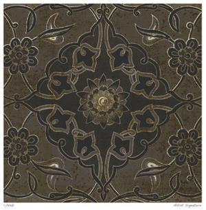 Vintage Tile IV by Paula Scaletta