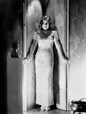 Paulette Goddard (born Marion Levy, 1911 - 1990), (b/w photo)