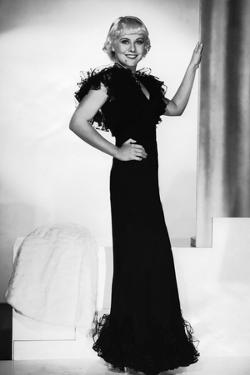 Paulette Goddard dans les annees 30 IN THE 30'S (b/w photo)