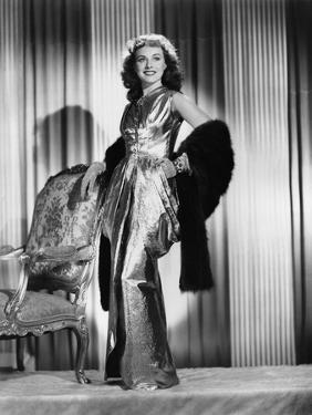 Paulette Goddard, Paramount Pictures, 1940 (b/w photo)