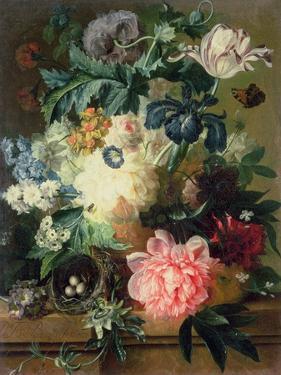 Still Life of Flowers by Pauline Baynes