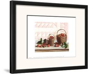 Strawberry Time by Pauline Eblé Campanelli