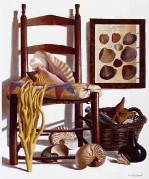 The Beachcomber's Basket, 1989 by Pauline Eblé Campanelli