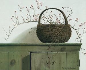 Wild Rose Berries, 1987 by Pauline Eblé Campanelli