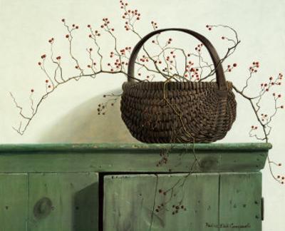 Wild Rose Berries by Pauline Eblé Campanelli