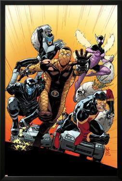 The Superior Foes of Spider-Man #4 Cover: Shocker, Boomerang, Beetle, Speed Demon, Overdrive by Paulo Siqueira