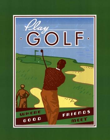 Play Golf by Paulo Viveiros
