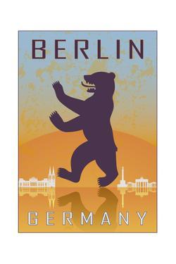 Berlin Vintage Poster by paulrommer