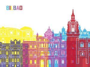 Bilbao Skyline Pop by paulrommer