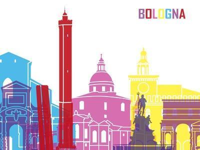 Bologna Skyline Pop