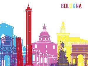 Bologna Skyline Pop by paulrommer