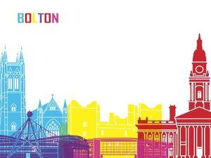 Bolton Skyline Pop by paulrommer