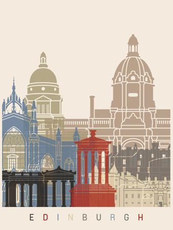 Edinburgh Skyline Poster by paulrommer