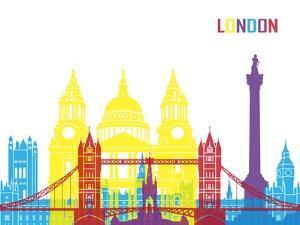 London Skyline Pop by paulrommer