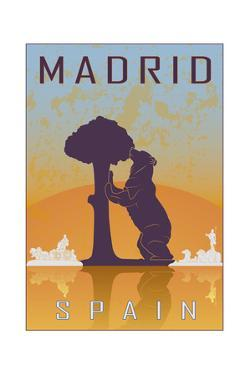 Madrid Vintage Poster by paulrommer