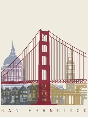 San Francisco Skyline Poster by paulrommer