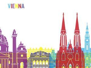 Vienna Skyline Pop by paulrommer