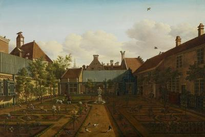 View of a Town House Garden in the Hague, 1775
