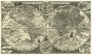 Totius Orbis Cogniti, Leiden, 1605 by Paulus Merula