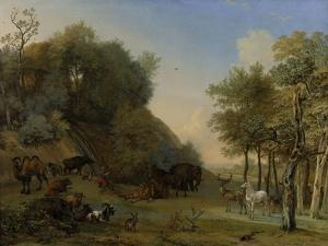 Orpheus and the Animals by Paulus Potter