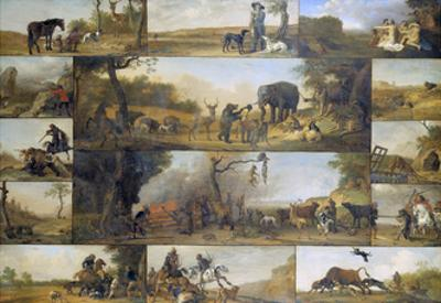 Punishment of a Hunter, 1647 by Paulus Potter