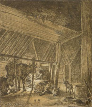 The Calving Cow by Paulus Potter