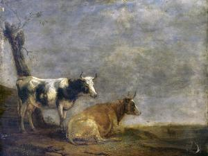Two Cows, after Paulus Potter, 1652 by Paulus Potter