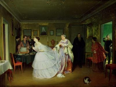 The Major's Marriage Proposal, 1851