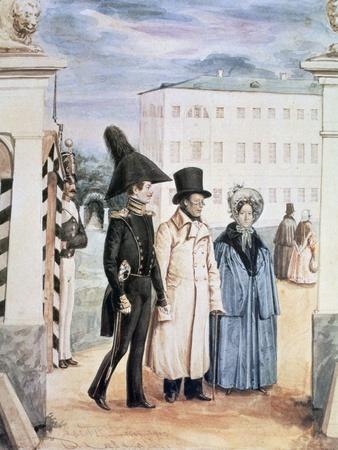 The Walk, 1837