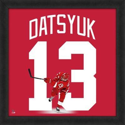 Pavel Datsyuk, Red Wings photographic representation of the player's jersey