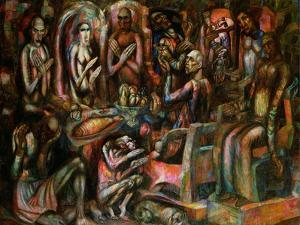Feast of Kings, 1913 by Pavel Nikolayevich Filonov